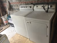 white washer and dryer set Vaughan, L6A