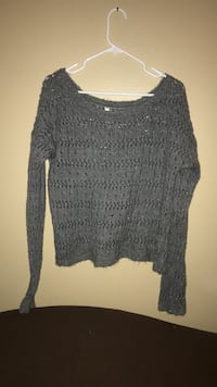 gray sweater by Aeropostale size med  Colorado Springs, 80909