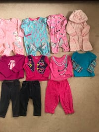 12m girls clothes in good condition (pick up only) Alexandria, 22304
