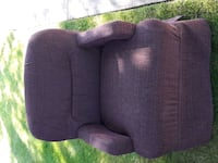 purple and black fabric sofa chair Edmonton, T5A 1V1
