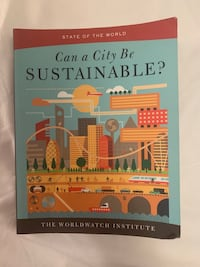 Can a city be sustainable? Toronto, M5R 1M3