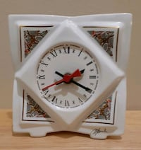 Signed Porcelain Clock / offer