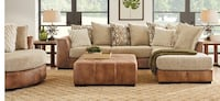 Beautiful sectional with ottoman  Jacksonville, 32207