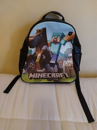Minecraft Backpack Silver Spring