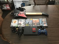 Playstation 2 Slim With Wired Guitar Essa