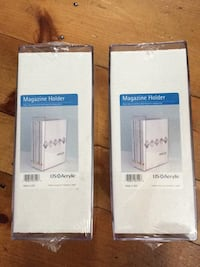 NEW Acrylic Clear Magazine/Book Holders/EACH Reading, 01867