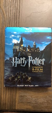 Harry Potter blu-ray film collection