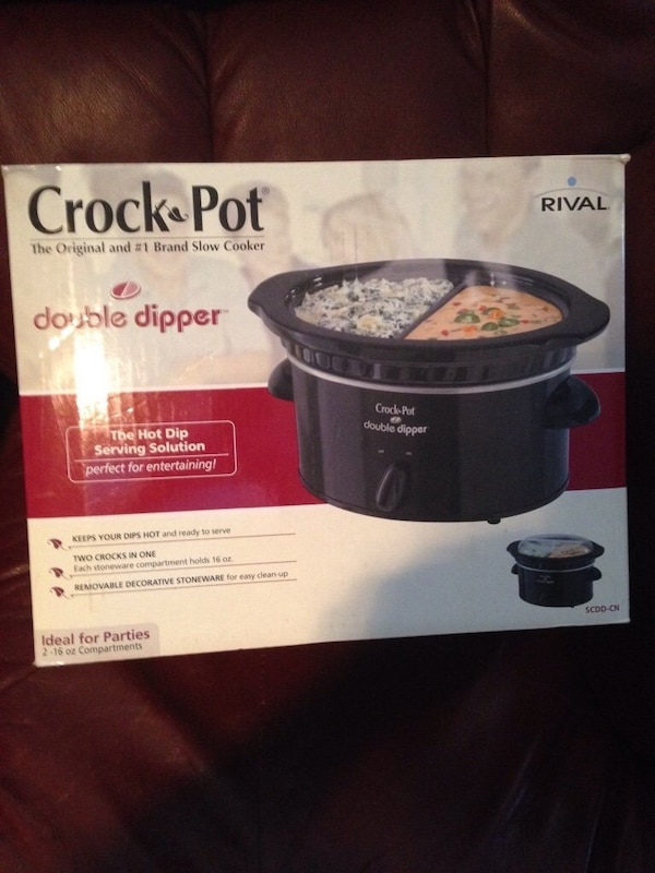 Used Crock Pot Double Dipper For Sale In Calgary Letgo