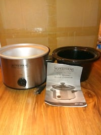 Stainless Steel slow cooker   NEW Saugus, 01906
