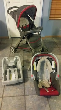 Stroller three in one
