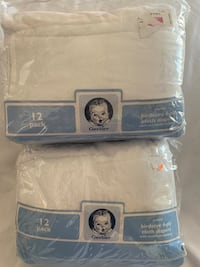 NEW CLOTH DIAPERS 2 packs 24 TOTAL $