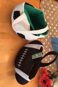 Easter baskets.  Football is new.