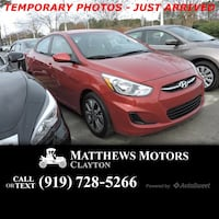 2017 Hyundai Accent Value Edition Clayton, 27520