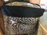 Brown-and-black leopard-print comforter pack Sunnyvale, 94089