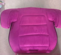 Harmony backless booster seat  Port Coquitlam