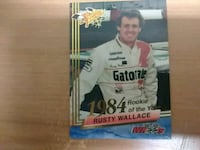 Rusty Wallace  rookie of the year card  Norfolk, 23503