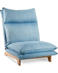 Blue fabric padded sofa chair Foster City, 94404