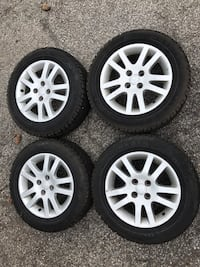 185/65/15 winter tires and rims Markham, L3R 9T9
