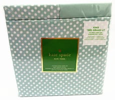 Kate Spade New York King Size 6 Pieces Sheet Set For $50 Only
