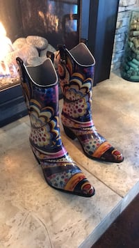 Rubber Rain Cowboy Boots by Nomad Size 7 San Diego, 92123