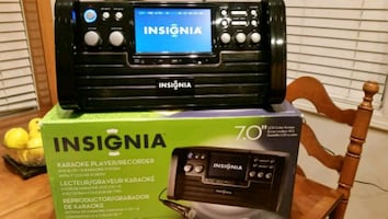 Insignia Karaoke player