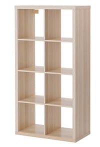Expedit Bookshelf White Stained Oak Effect Alexandria, 22314