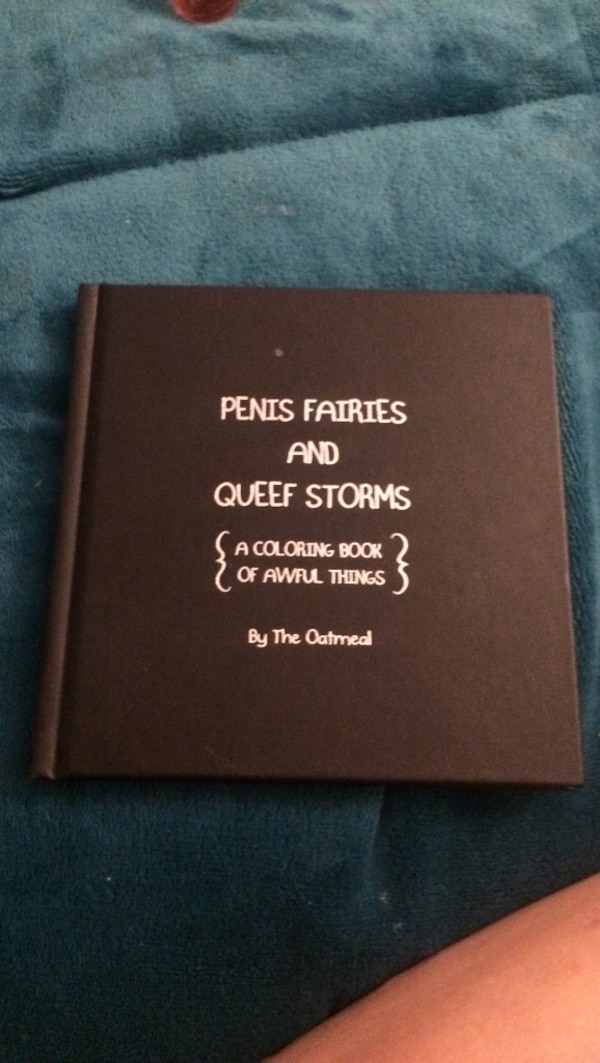 Used Brown Penis Fairies And Queef Storms Coloring Book By The