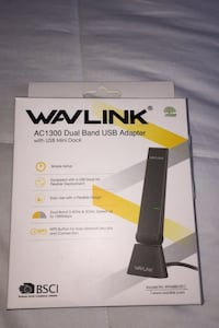 Wavlink Dual Band USB Adapter Vaughan, L4H 2K7