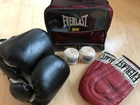 Ever last boxing set -head gear/training gloves/boxing gloves/tape 41 km