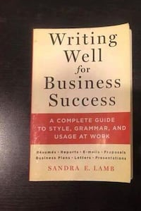 Writing Well for Business Success San Francisco, 94122