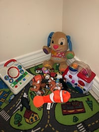 assorted learning toy lot Weslaco, 78596
