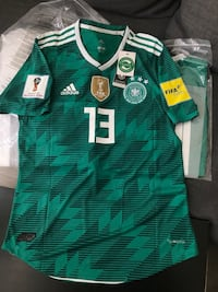 2018 World Cup Germany Green Jersey Large Toronto