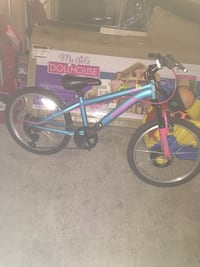 blue and black BMX bike Laurel