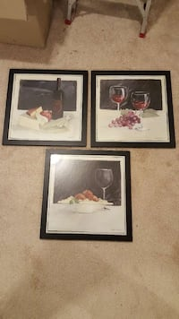 Wine prints, set of 3 Woodbridge, 22193