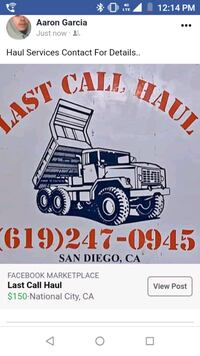 NEED A HAUL? LAST CALL HAUL IS HERE FOR YOU!