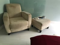 two brown fabric sofa chairs Vancouver, V5V 2W9