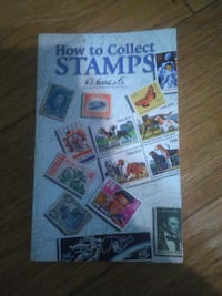 How to coll stamps book Lenoir, 28645