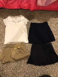 4T uniforms for girls  Pearland, 77581