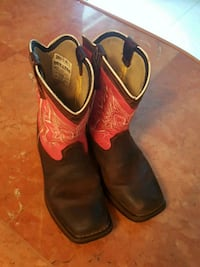 Girls Pink Durango Boots Crystal River