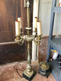 Tall antique table lamp Waynesboro, 17268
