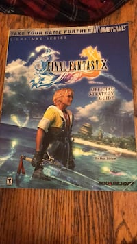 Final fantasy x book Fort Washington, 20744