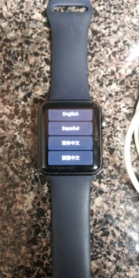 Series 1 AppleWatch 42mm Silver Spring, 20904