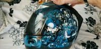 Icon Alliance Nikova Graphic Full Race Helmet Lyndhurst, 07071