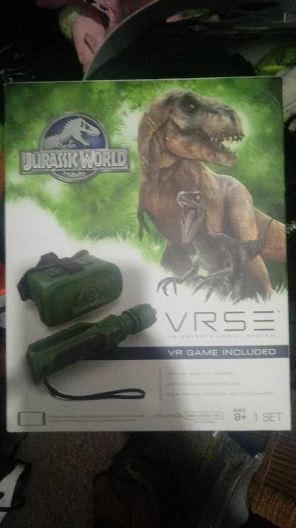 Jurassic Park VRSE virtual reality Game New In Box