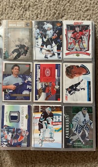 NHL Card Collection.