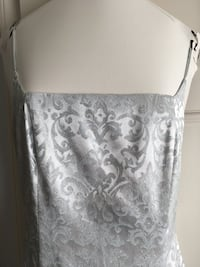 Beautiful silver dress gown - like new condition! Falls Church