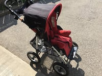 baby's red and black stroller Cambridge, N1P 1C9