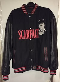 """SCARFACE"" 2 sided reversible Jacket - 3-4XL. Minneapolis"