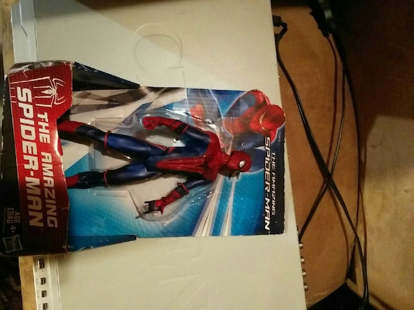 The Amazing Spider-Man action figure pack