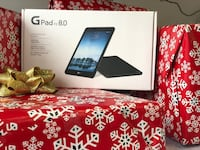 black Samsung Galaxy Tab 3 box North Little Rock, 72117